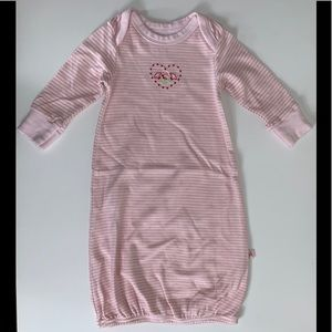 Other - Pink/white striped sleeper One Size